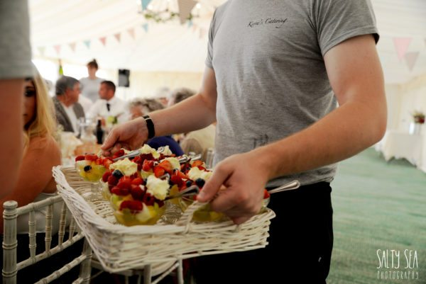 cornish wedding catering